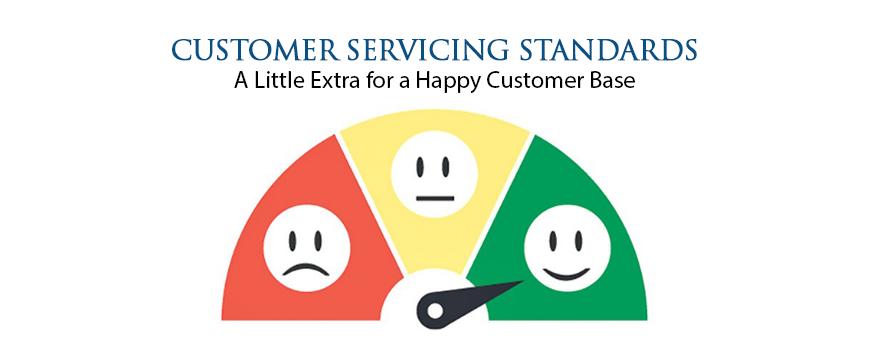 Customer Servicing Standards